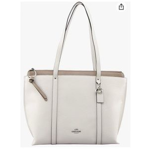 Coach May Tote in White
